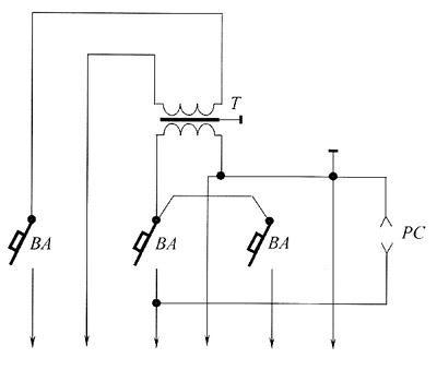 Принципиальная схема ящика ЯТП