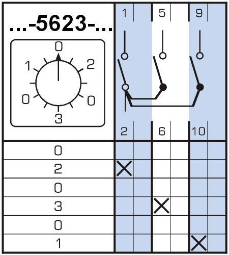 4G16-5623 на 16А Схема 5623
