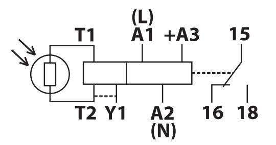 Схема подключения ФР-9М,