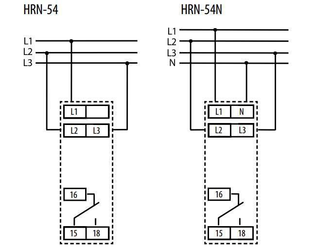 Подключение HRN-54