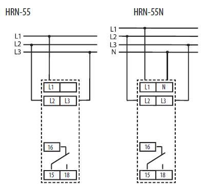 Подключение HRN-55