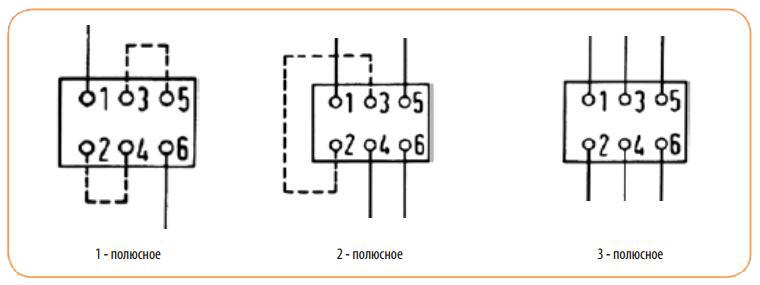 Схема подключения автомата MS
