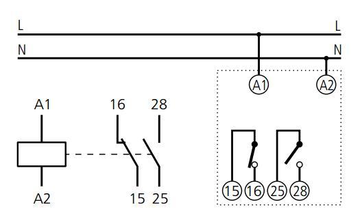 Схема подключения РН-01Е