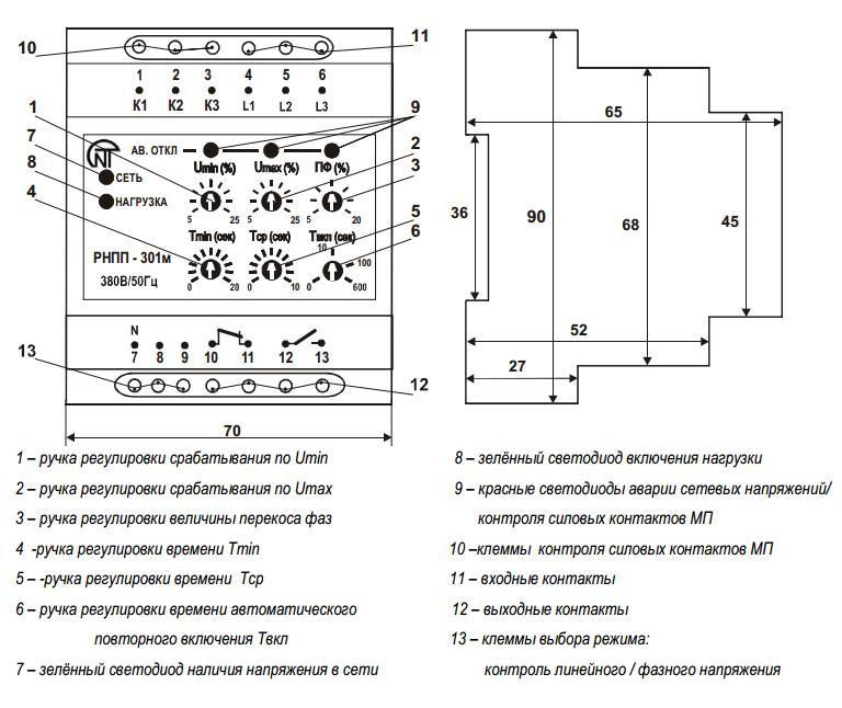 Схема авр на рнпп 301