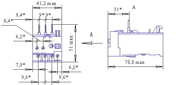 РТТ5-10 без клемника, IP20