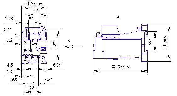 РТТ5-10 с клемником, IP20