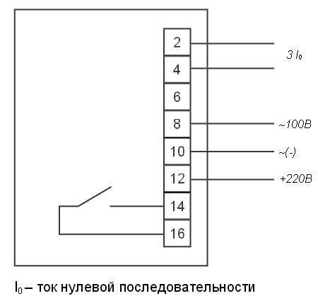 Схема подключения РТЗ-51
