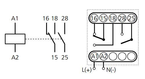Схема подключения ВЛ-32