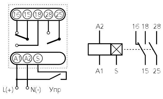 Схема подключения ВЛ-42