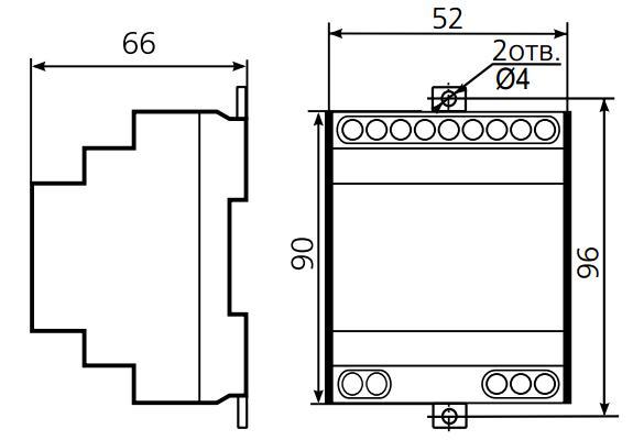 Схема подключения ВЛ-56М