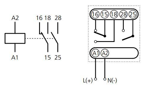 Схема подключения ВЛ-60М